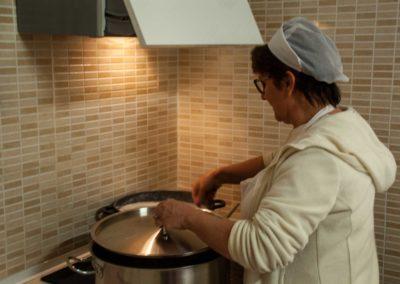 Scuola materna Folli folletti Trieste la nostra cuoca all'opera
