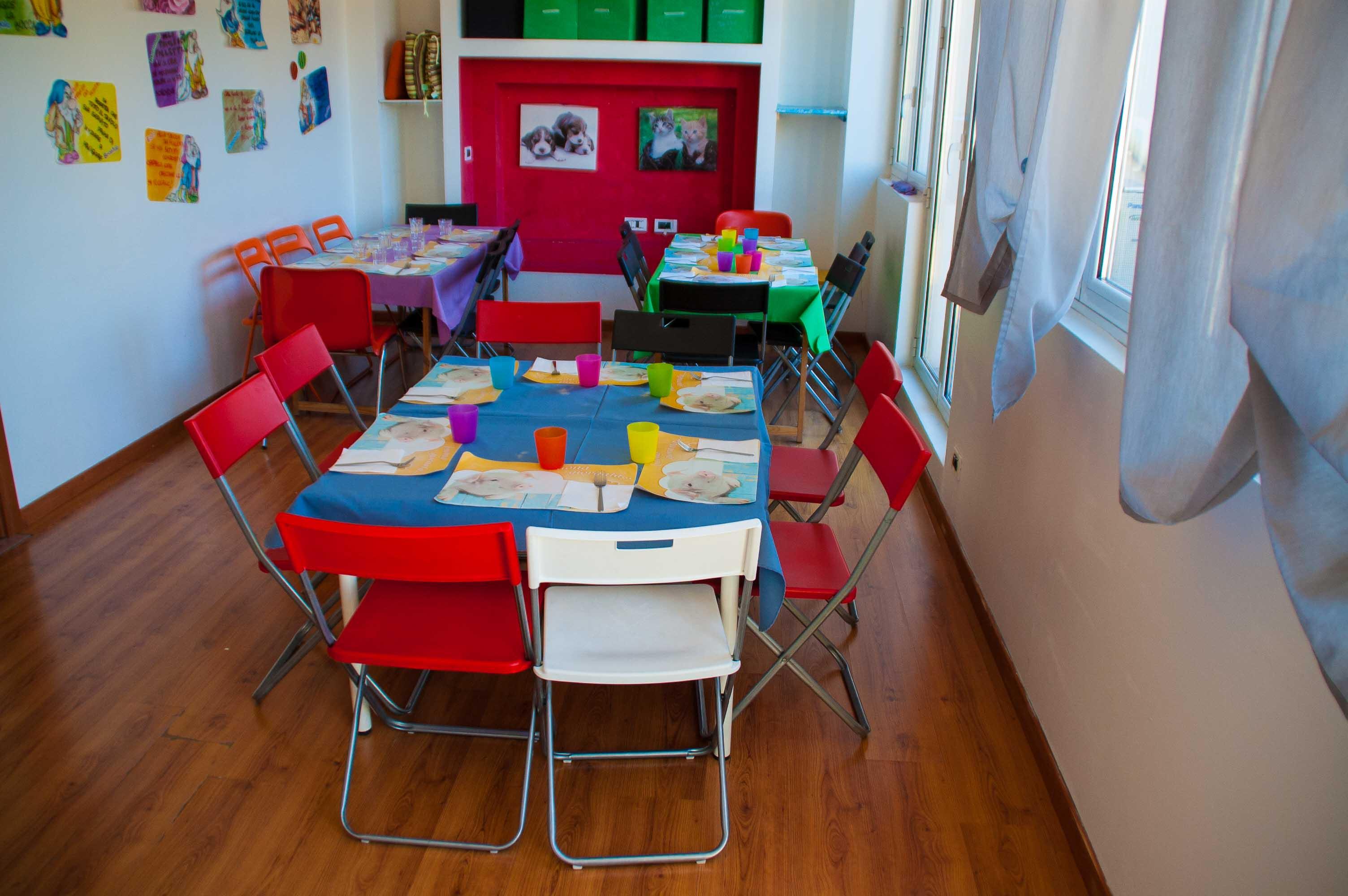 Asilo nido trieste per bambini da 0 a 3 anni da luned a sabato - Stanze da pranzo ...