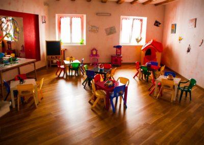 Scuola materna Folli folletti Trieste - stanza giochi