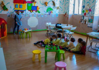 Scuola materna Folli folletti Trieste tutti in carrozza