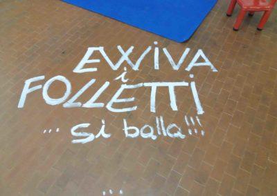 sala feste Trieste Folli folletti via Ghirlandaio 22